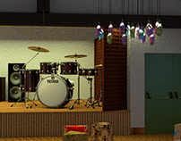 Interior Design - concert hall