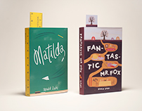 Roald Dahl Cover Redesign
