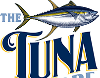 The Tuna Store Logo Illustrated by Steven Noble