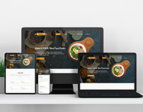 Restaurant I Responsive web design