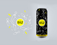 BÂZ - ENERGY DRINK (school project)