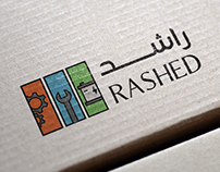 RASHED Logo Design