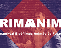 PRIMANIMA - publication for an animation film festival