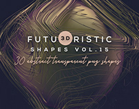 Free 3D Abstract Shapes v.15