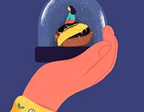 Christmas Tale | Editorial illustration