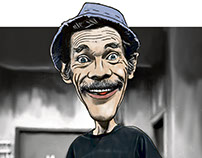 Caricatura Don Ramón