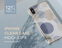 iPhone Clear Case Mock-Up