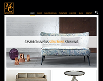 Interior Design Showroom Website