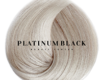 Logo for PlatinumBlack beauty centre Dubay