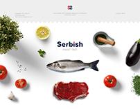 A Serbian restaurant