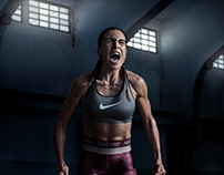 NIKE Women #GETLOUD Retouching