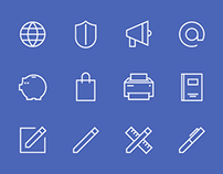 Icon Set for UXPin