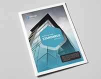 Corporate Business Brochure 18 Pages A4