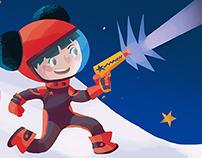 Captain Stella, Space Adventures