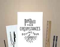 Hand Drawn Quote Illustration