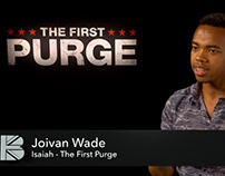 The First Purge - Joivan Wade Junket