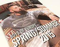 Lookbook SS2015 / Boys of Europe