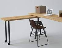 Classy Desk 2in1