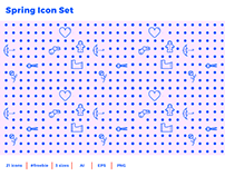 Freebie: Spring Icon Set