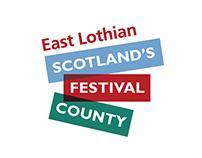 East Lothian Scotland's Festival County Logo
