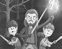 Lord of the Rings Illustrations