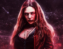 Scarlet Witch retouch / print