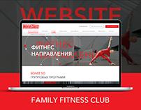 WEBSITE || WORLD CLASS || FITNESS CLUB PREMIUM CLASS