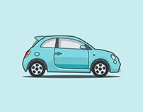 Fiat electro car