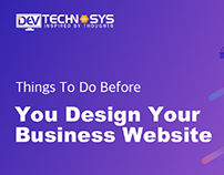 Things To Do Before You Design Your Business Website