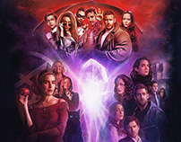 Netflix and Chills: Official NYCC Poster Illustration