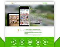 Ekiosk mobile (WEBSITE & ANIMATION)