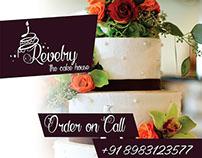 Revelry cake shop branding