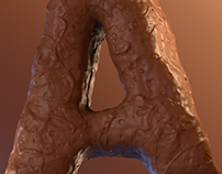 Choco | 3D typography