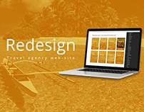 Travel agency web-design