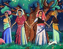 Google Doodle - Chipko Movement