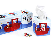 NOPO - children's tissue packaging
