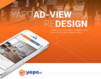 Yapo.cl / Adview Redesign