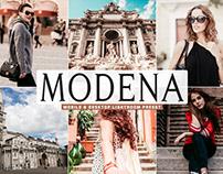 Free Modena Mobile & Desktop Lightroom Preset