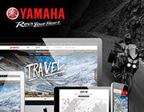 Yamaha Motor Europe - Online Travel Platform Design