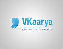 VKaarya Logo Design