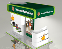 Stand Banco Mercantil Santa Cruz client: Raza Agency