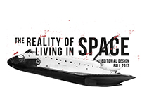 Editorial Design: The Reality of Living in Space