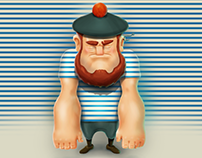 Game character: a sailor