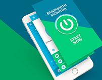 Bandwidth Monitor - Mobile App