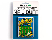 Lotto Ticket Nail Buff