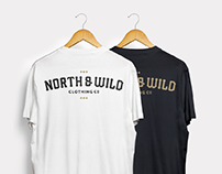 North & Wild Clothing co Concept Design