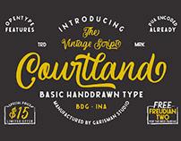 FREE | Courtland Vintage Script