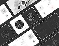 Healthy Gourmet - Logo Design Process