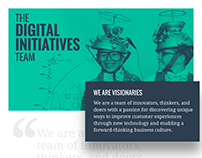 The Digital Initiatives Team