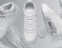 Nike - White shoes